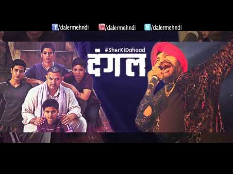 Daler Mehndi Singing Live 'Dangal' Title Song and Aamir Khan
