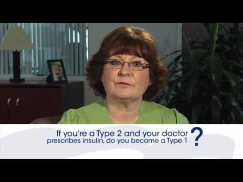 Diabetes Questions: If you're type 2 and you're prescribed insulin, do you become type 1?