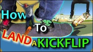 How To Do A Kickflip | Fast & Easy Skateboard Tutorial For Beginners | Best Way To Land Kickflips