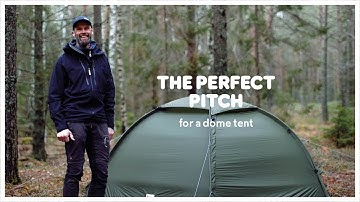How to pitch a dome tent | Fjällräven
