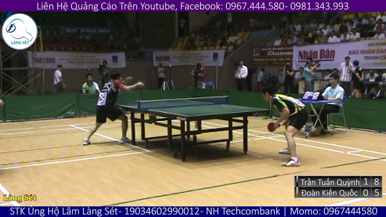 Highlights   Huyền Thoại Việt Nam (Đoàn Kiến Quốc) vs Tuyển Thủ Hà Nội (Trần Tuấn Quỳnh)