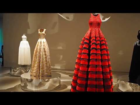 A walk-through of Azzedine Alaïa: The Couturier exhibition