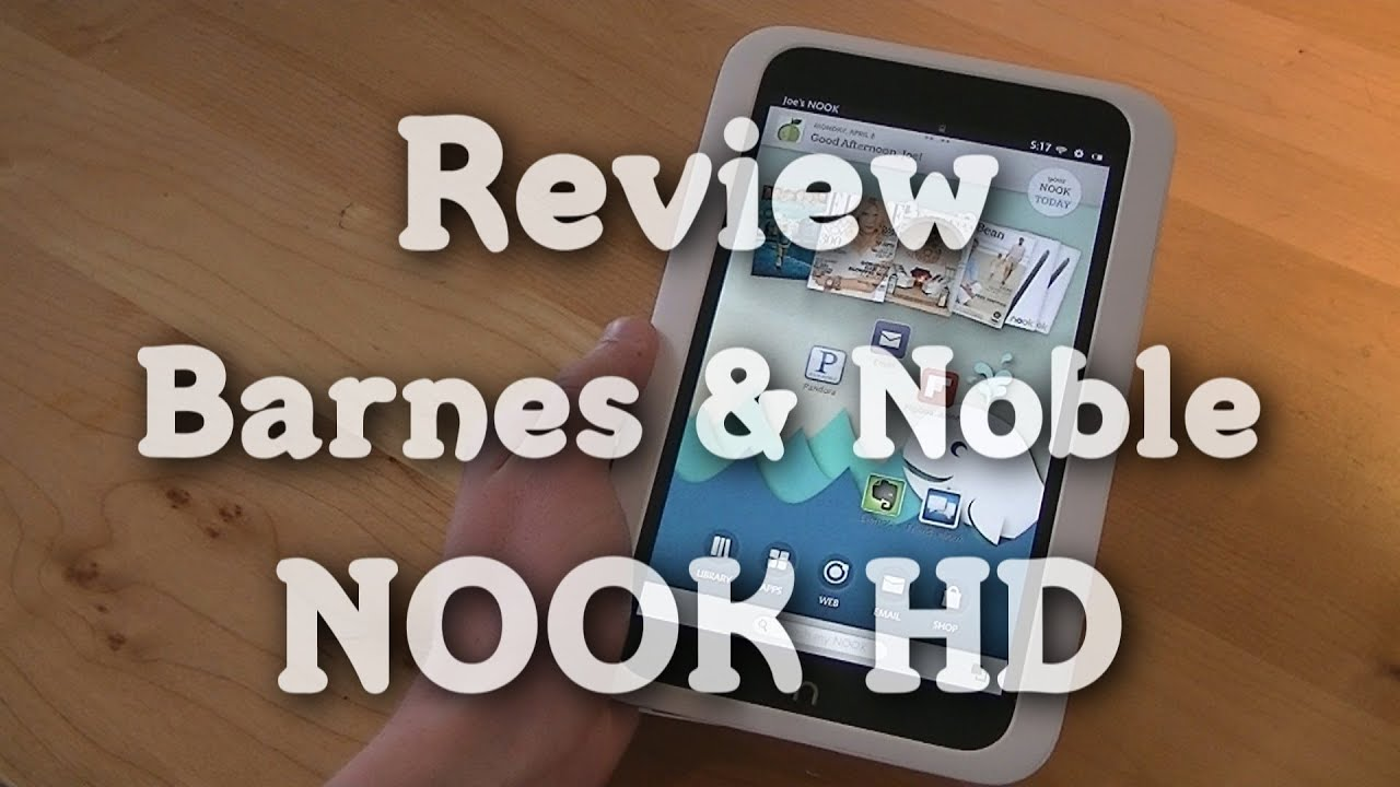 Review Barnes Noble NOOK HD