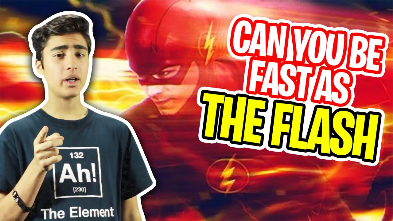 Can you become as fast as the flash?