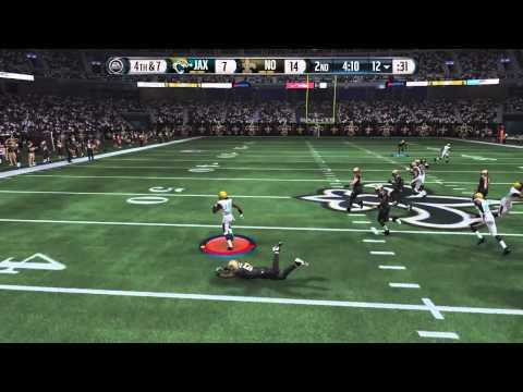 Ace Sanders punt return TD - Jaguars vs. Saints online h2h
