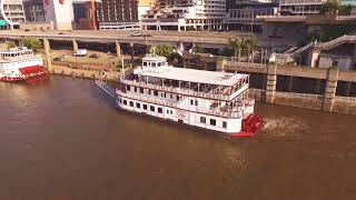 The Mary M. Miller Dinner Cruise Ship Setting Sail