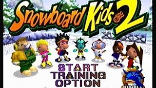 Snowboard Kids 2 Playthrough 1 - Sunny Mountain