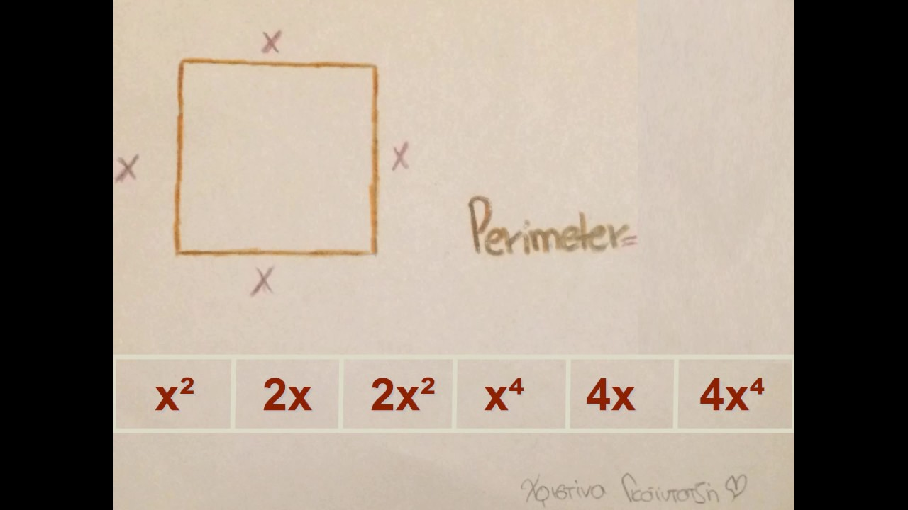 What Is The Perimeter Of A Rhombus With Side Length X? Find The Area Of