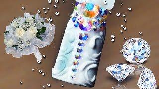 💎 Свадебный маникюр 💎 свадебный • праздничный дизайн ногтей 💍(Девчонки, в этом видео хочу показать вам Свадебный маникюр свадебный • праздничный дизайн ногтей..., 2017-01-19T21:10:07.000Z)