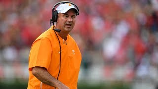 Jeremy Pruitt talks Tennessee football