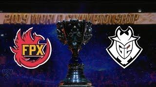 【2019全球總決賽】決賽 FPX vs G2 #1