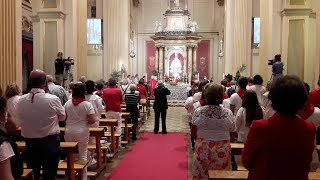 Misa de San Fermín en Pamplona