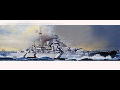 Tamiya 1/350 Battleship Bismarck - Intro