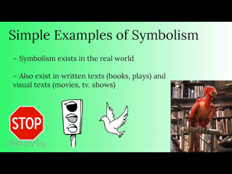 Symbolism A Student Tutorial Youtube