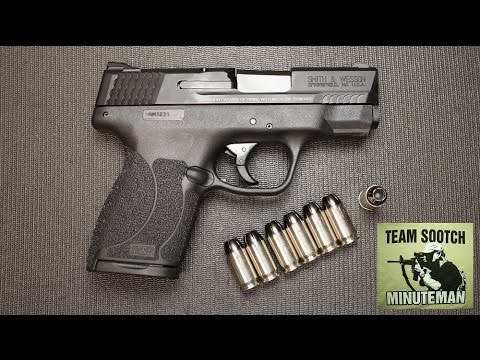 S&W M&P 45 Shield Pistol : Big Bore Carry