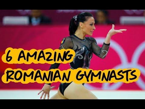 Gymnastics - 6 Amazing Romanian Gymnasts