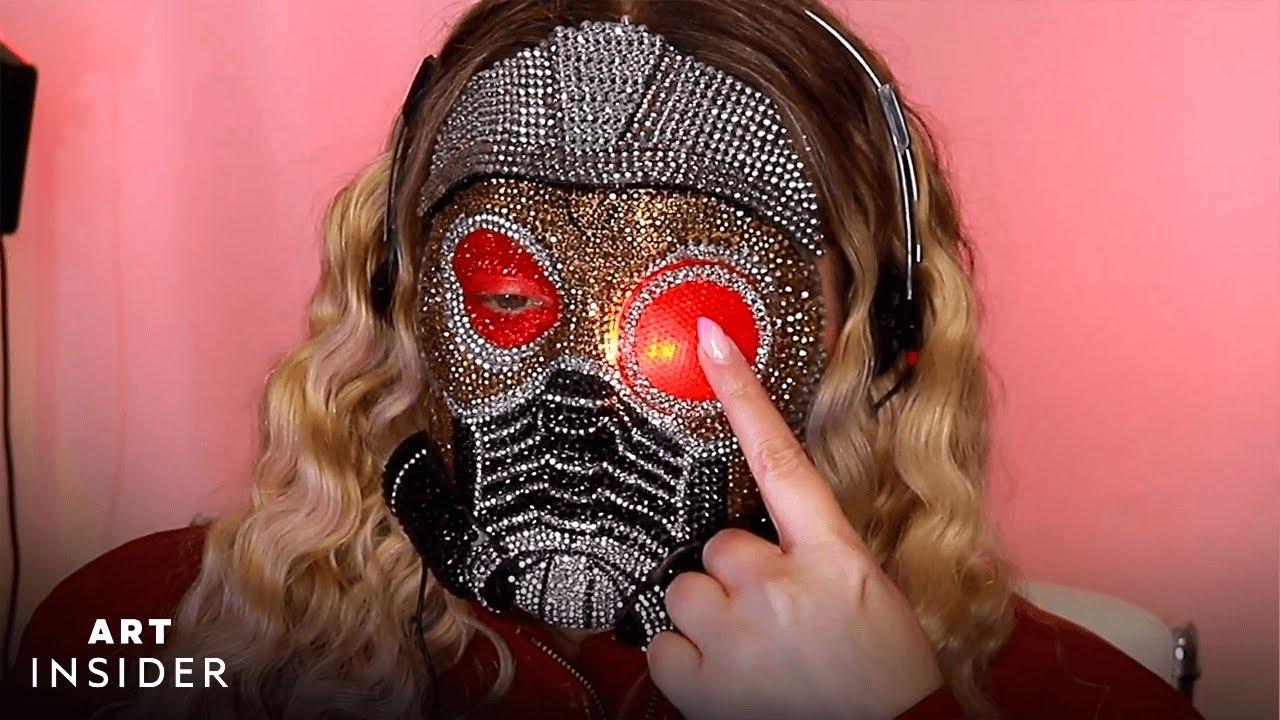 Artist Creates ASMR Marvel Makeup