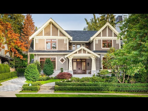 $6,000,000 home in the desired South Granville, 6076 Angus Dr Vancouver West