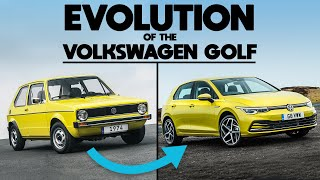 homepage tile video photo for The Evolution Of The Volkswagen Golf