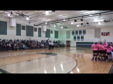 RCA vs Franklin Classical School MTAC Volleyball Championship 2016 SET 2