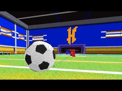 COOLEST SOCCER IN MINECRAFT GAME | Minecraft Soccer
