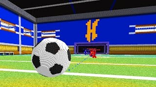 COOLEST SOCCER IN MINECRAFT GAME | Minecraft Soccer