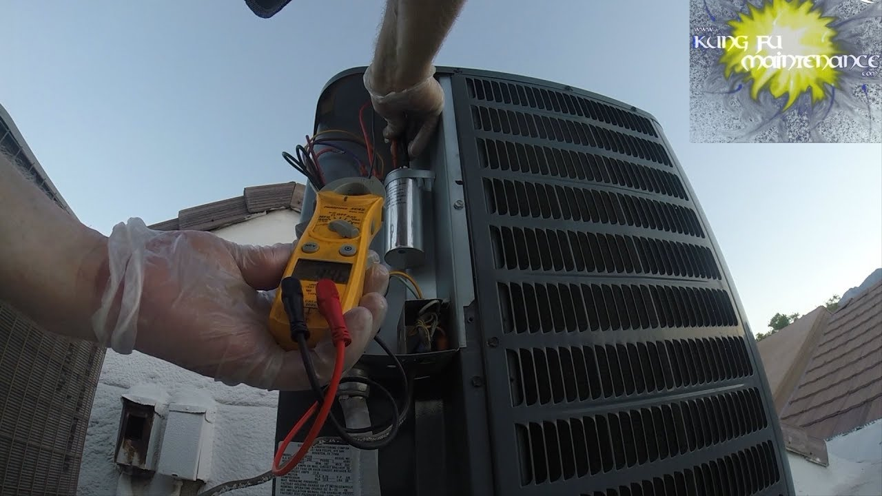 Sounds Of Air Conditioner Compressor Having Hard Time To Start
