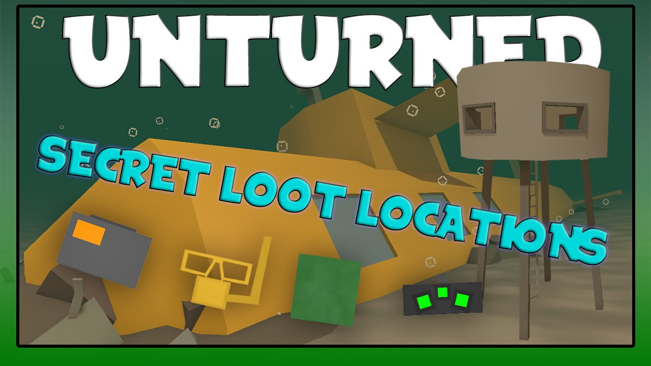 Unturned Secret Loot Locations In Washington YouTube