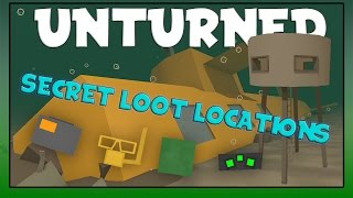 Unturned | Secret Loot Locations In Washington!