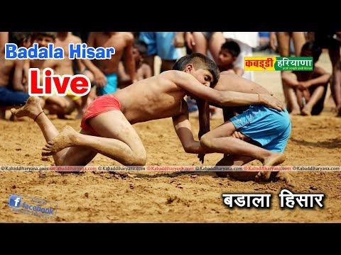Badala Hisar 52kg  Kabaddi Tournament LIVE || KABADDI HARYANA ||