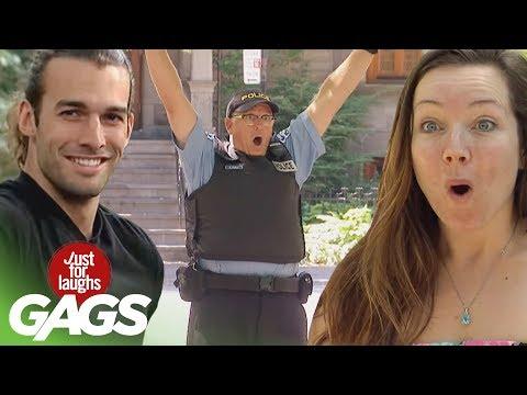 Best of Police Pranks Vol. 2 | Just For Laughs Compilation