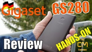 Gigaset GS280 Test : German smartphone with flagship potential?  (de...