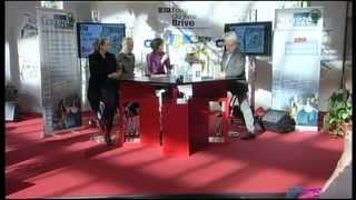 FOIRE DU LIVRE DE BRIVE 2012 : Forum des lecteurs – MH. LAFON – A. BEREST – T. BEINSTINGEL