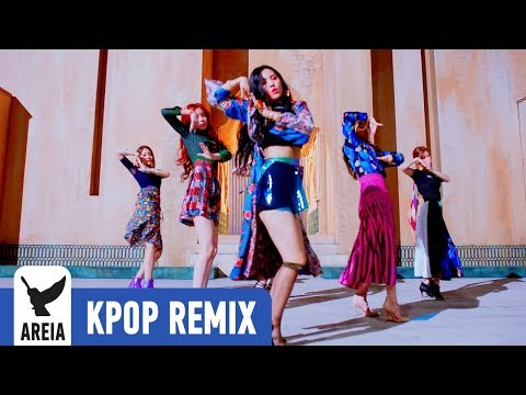 [KPOP REMIX] (G)I-DLE - Alone   Areia Kpop Remix #332