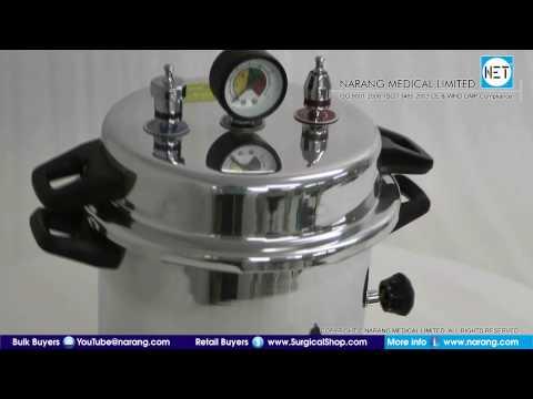 Portable Autoclave Steam Sterilizers. Item Code: AU410
