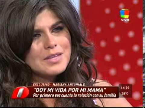 Mariana antoniale en intrusos youtube for Espectaculo primicias ya