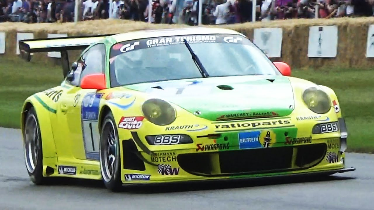 Porsche 911 gt3 rsr w akrapovic exhaust epic sound