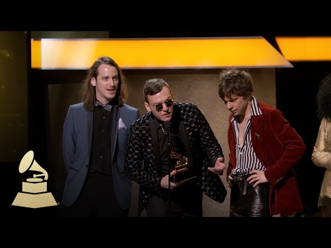 Cage The Elephant | Acceptance Speech | 59th GRAMMYs
