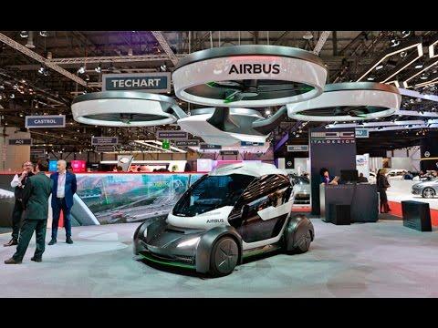 airbus presenta su incre ble prototipo de auto volador. Black Bedroom Furniture Sets. Home Design Ideas