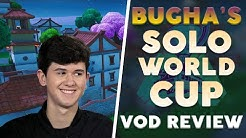 [VOD REVIEW] Bugha from Fortnite World Cup Finals - Patience and Playing for Impact Frags
