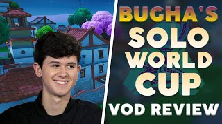 [VOD REVIEW] Bugha de Fortnite World Cup Finals - Patience et jouer pour Impact Frags