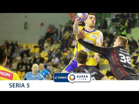 5 seria Superliga SANDRA SPA POGOŃ SZCZECIN /  VIVE TAURON KIELCE