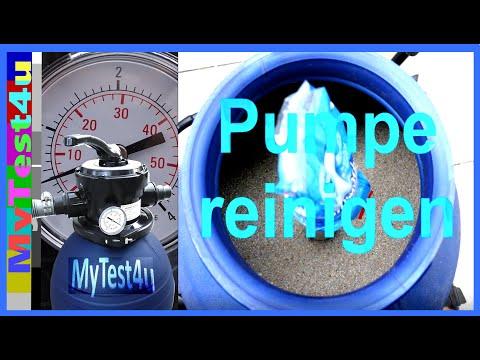 Sandfilter - Pool - Pumpe reinigen (T.I.P. SPF 180)