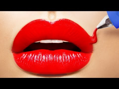 12 HACKS TO MAKE YOUR LIPS BIGGER WITHOUT INJECTIONS