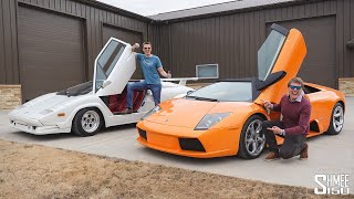 Hoovie's Lamborghini Murcielago is the MOST AWKWARD Supercar EVER!