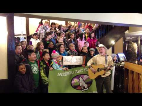 I did, I did, I did the Iditarod Trail song with Hobo Jim and Northwood Elementary School