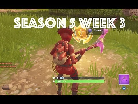 Fortnite: Season 5  Week 3 - Secret Battle Star