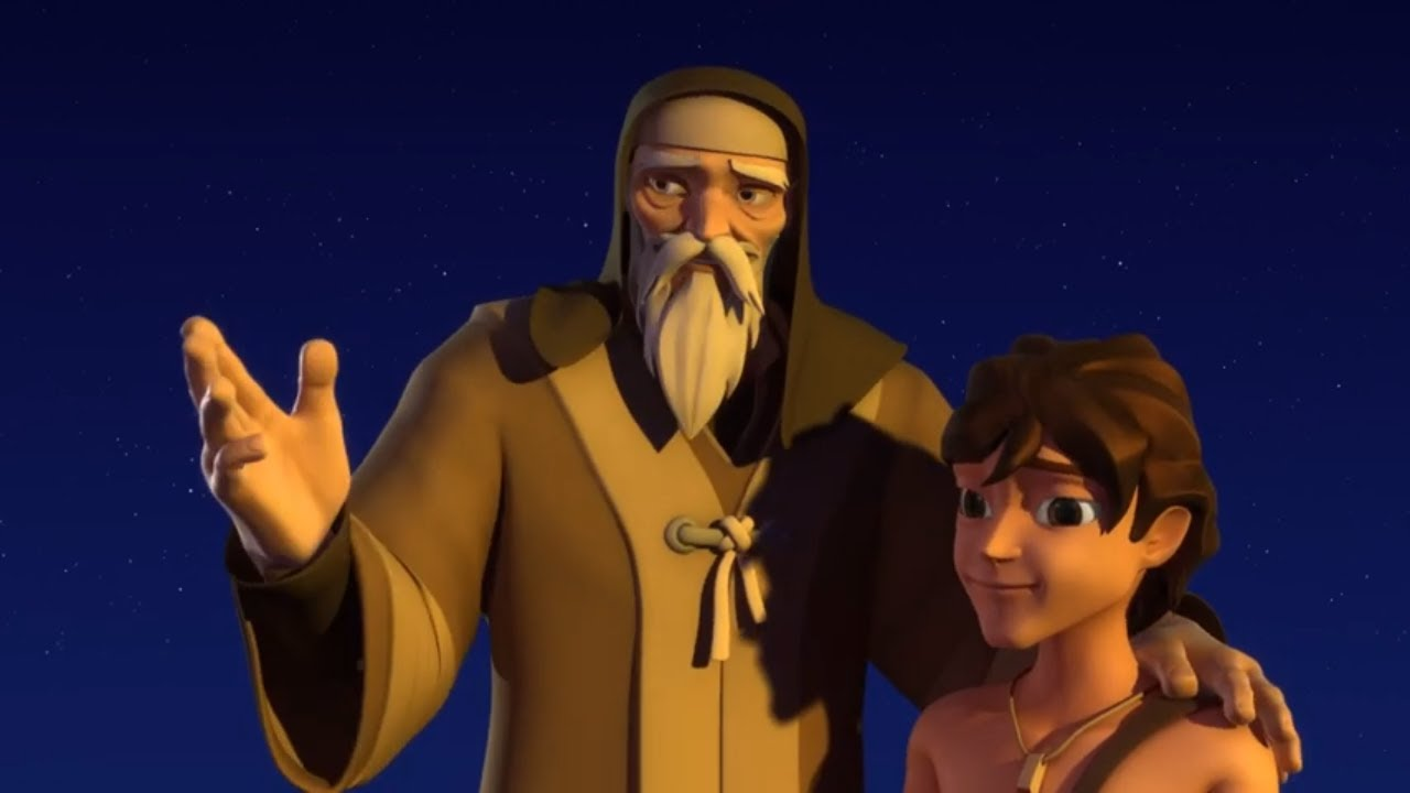 Superbook - The Test: Abraham And Isaac - Season 1 Episode 2 - Full Episode (Official HD Version)