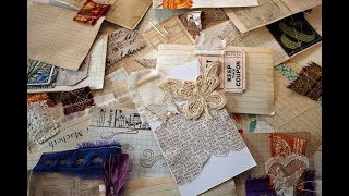 ICAD Journaling - Junk Journal With Me