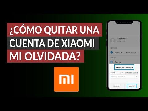 ¿Cómo Quitar o Eliminar una Cuenta de Xiaomi MI? - Fácil y Rápido